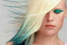 Farby a účesy vlasov
