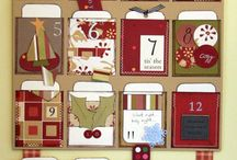 Christmas craft, advent calendar ideas