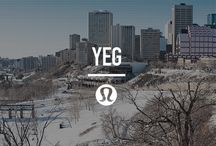 local guide: Edmonton / A local city guide, handpicked by our local team. Our favourite places to sweat, eat, drink and spend our days. / by lululemon