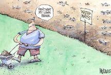 Long Island Cartoons / Cartoons about Long Island, NY