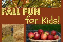 kids fall fun