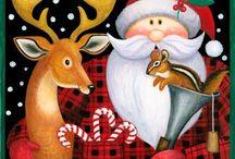 disegni Babbo Natale