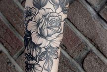 Tattos plantas