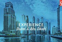 Experience Dubai & Abu Dhabi / A taste for what a tour to Dubai and Abu Dhabi includes!