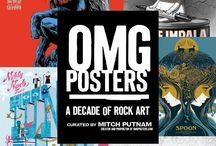 OMG Posters: A Decade of Rock Art