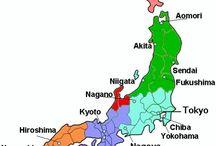 Map japan provinces