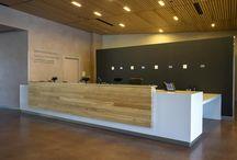 Reception desks & Enterance