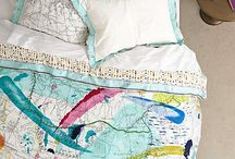 Travel themed bedroom