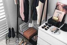 decor •  closet