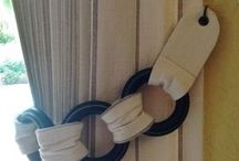 para amarrar las cortinas