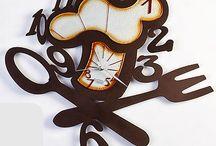 Ρολόγια τοίχου / Πρωτότυπα και μοναδικά σχέδια σε ρολόγια τοίχου.
