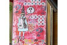 Art journal / Art journal -sivuja.