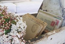 Love Letters / Actual love letters - or very beautiful calligraphy that I love...