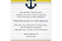 Nautical Wedding Invitations / Lovely Nautical wedding invitations,Nautical  save the date, Nautical stationery, #Nautical  #Nauticalwedding #weddings #invitations #savethedate