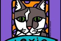 Feline Inspired Art and Cat Portraits /
