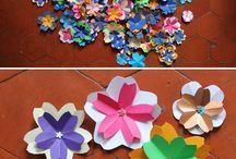 Fleurs En Papier pliage