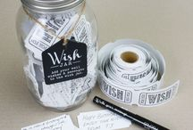 Wish Jars / http://www.a-choice-of-gifts.co.uk/giftshop/cat_1205308-Wish-Jars.html