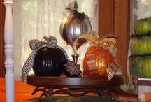 Fall decor / by Debbie Charlet