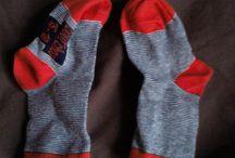 Chaussettes marionnettes / Ateliers en tout genre effectués avec les enfants - chaussettes marionnettes
