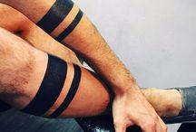 Tattoo Black stripes