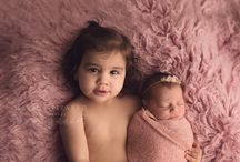 Newborn with Sibling Pose