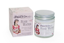 Past Creations: Rose Water / Products from our classic Rose Water Collection.