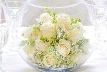 decoración flores