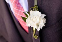 Wedding flowers / Button hole