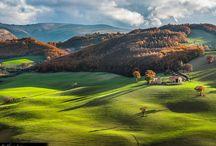Le Marche / The landscape around our house