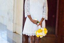 Courthouse wedding dress
