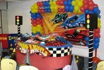 Hot Wheel B-day ideas #blog4bday / Birthday ideas for boys / by Yadira - El Club de las Diosas