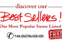 FROST BEST SELLERS / Check out the best sellers list that was picked and recommended by our customers.