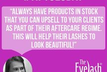 #tiptuesdays / Tips to help with eyelash extension application from our Head Trainer Donna Bell.