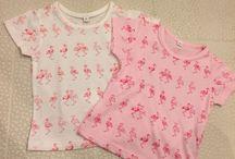 flamingo♥︎ / luv flamingo motif  baby's & my Collection