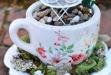 Minyatür bahçeler