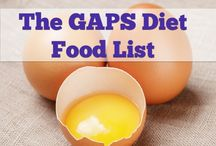 GAPS Info and Recipes / A dietary plan that is grain free  / by Laurie Windley