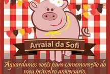 Convites e complementos / Artes para temáticas de festas e aniversários