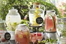 Drink Station Inspiration / by How To: Simplify | Jen Tilley