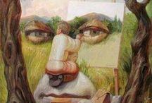 Arte - Ilusions opticas / Arte: ilusións ópticas / by XOSE_RAMON