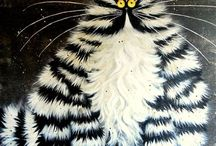 cats / by Евгения Байгозина