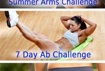 Workouts : arms , abs , butt