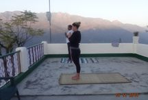 Yoga with saptrashmi.com / living health. living natural. living happiness