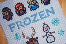frozen crossstitch