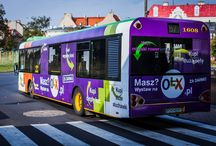 Reklama na autobusach / Reklama tranzytowa na autobusach miejskich i pks