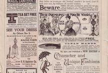 Inspiration : Vintage / Images vintage vieux papiers- livres - photos