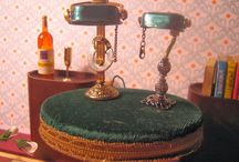 "Maquette inspirations / Ways to make things for theatre maquette ideally in 1/2"" scale aka 1:24"