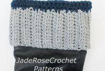 Crochet Boot Cuffs / boot cuffs - patterns and custom cuffs #enjoycrochet