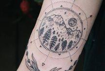 tato / tatuaże - róża wiatru