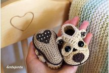 Patucos Crochet  (baby shoes)
