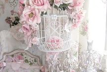 Shabby Chic and Vintage Bird Cages
